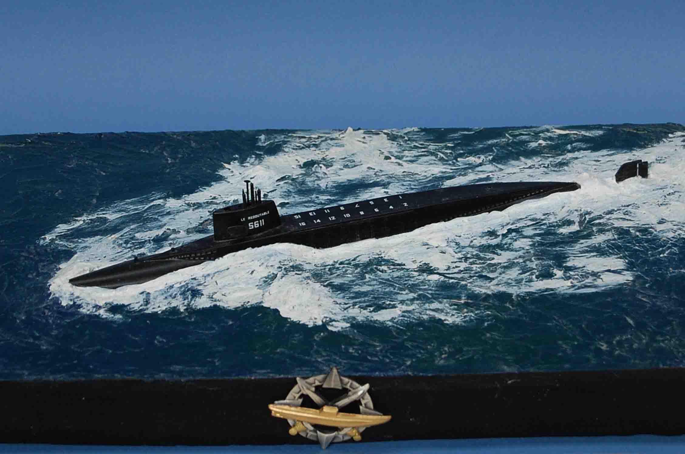 [Heller] Le Redoutable 1/400 Sous-marin